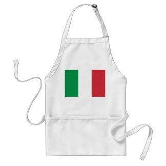Delantal italiano de la bandera