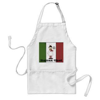 Delantal italiano del cocinero #4