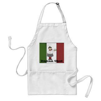 Delantal italiano del cocinero #7