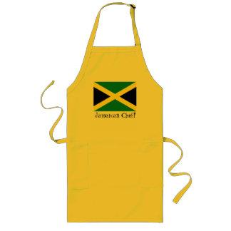 Delantal jamaicano del cocinero del recuerdo de la