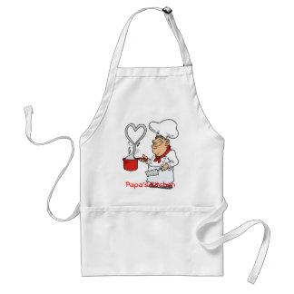Delantal--La cocina de la papá Delantal