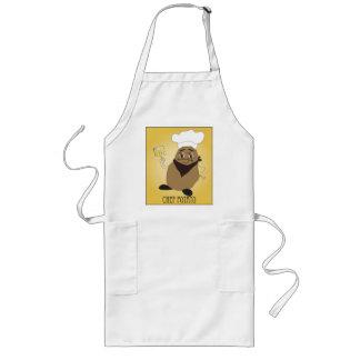 Delantal largo de la patata del cocinero