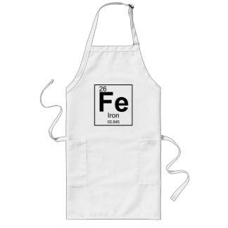 Delantal largo del FE del cocinero del hierro [26]