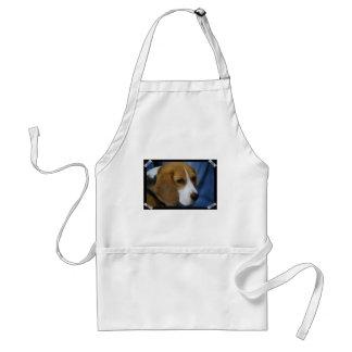 Delantal lindo del beagle