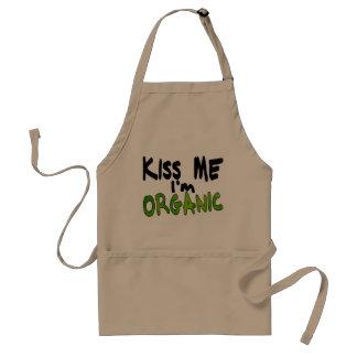 Delantal orgánico del beso