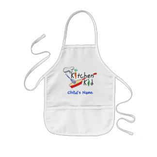 Delantal personalizado niño de la cocina