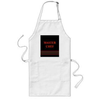 Delantal principal del personalizado de Chef>