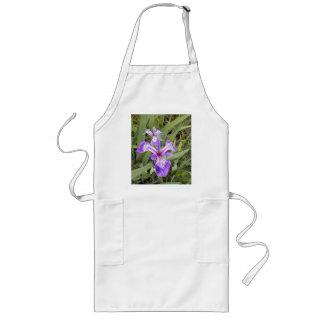 Delantal púrpura del iris 2