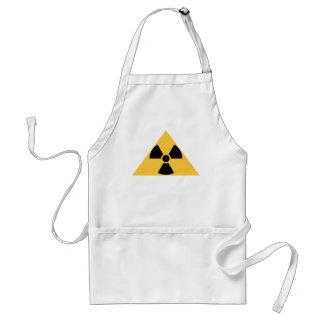 Delantal radiactivo del emblema