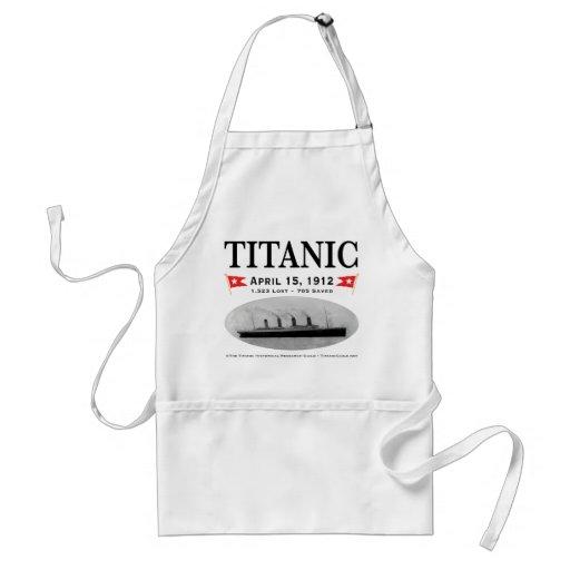 Delantal titánico de la nave del fantasma
