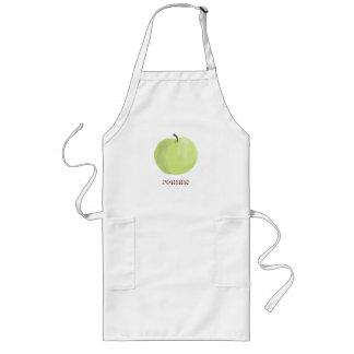Delantal verde de Apple