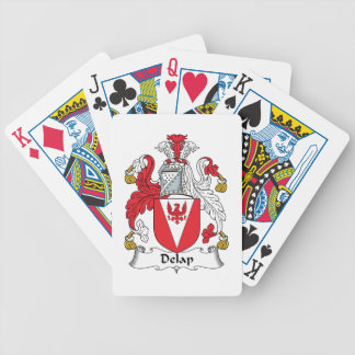 Delap Family Crest Bicycle Playing Cards