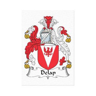 Delap Family Crest Canvas Print