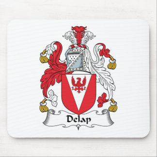 Delap Family Crest Mouse Pad