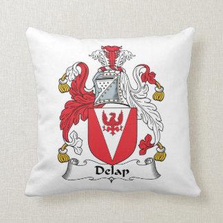 Delap Family Crest Pillow