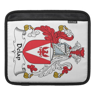 Delap Family Crest Sleeves For iPads