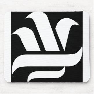Delason Knowledge (black on white) - Customized Mouse Pad