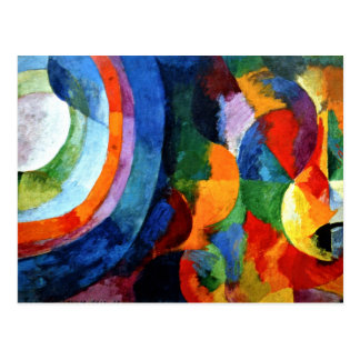 Delaunay - Circular Forms, Sun, Moon Postcard