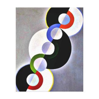 Delaunay - Endless Rhythm Canvas Print