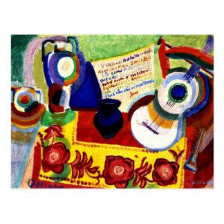 Delaunay - Portuguese Still Life Postcard