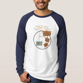 Delaware 2010 Tax Day Tea Party Long Sleeve Shirt