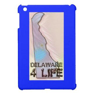 """""""Delaware 4 Life"""" State Map Pride Design iPad Mini Cover"""