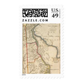 Delaware 5 postage
