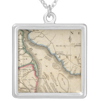 Delaware 5 silver plated necklace