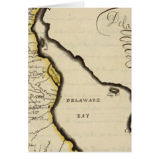 Delaware 7 greeting card
