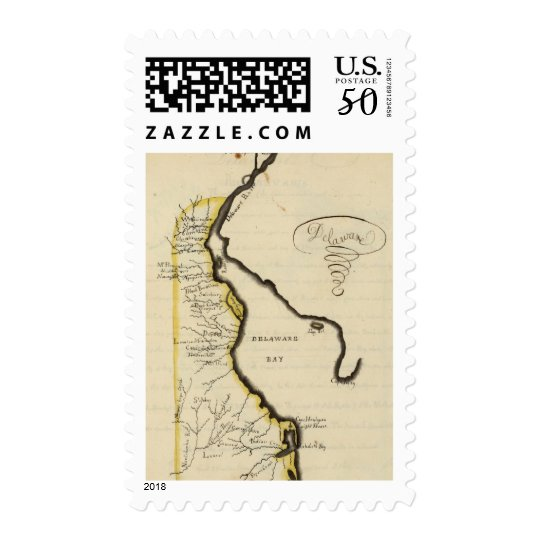 Delaware 7 postage