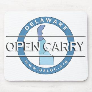 Delaware abierto lleva Mousepad Alfombrillas De Ratones