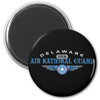 Delaware Air National Guard 2 Inch Round Magnet