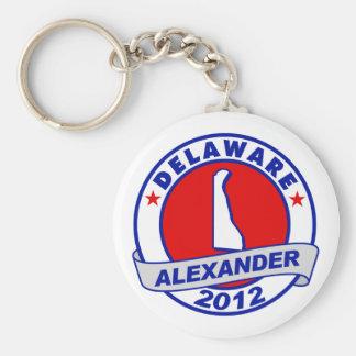 Delaware Alexander Keychain
