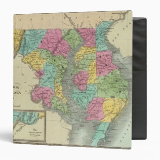 Delaware And MaryLand 3 Ring Binder