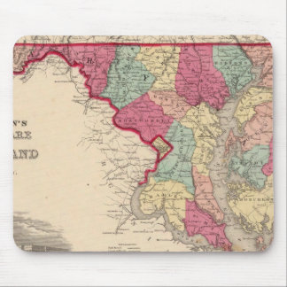 Delaware and Maryland Mouse Pad