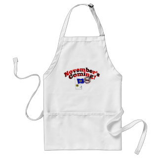 Delaware Anti ObamaCare – November's Coming! Adult Apron
