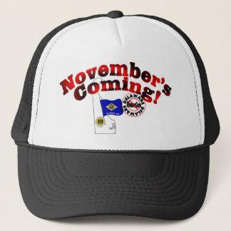 Delaware Anti ObamaCare – November's Coming! Trucker Hat