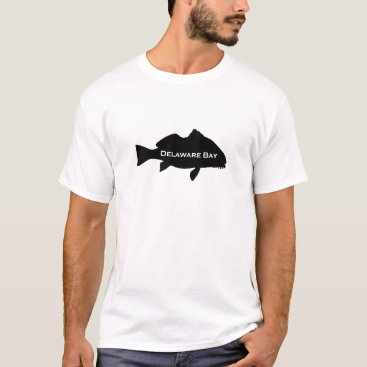 USA Themed Delaware Bay (Black Drum Logo) T-Shirt