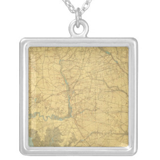 Delaware Bay, New Jersey Necklace