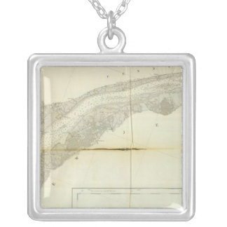 Delaware Bay, River 3 Custom Necklace