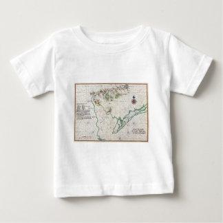 Delaware Bay Zwaanendael Swanendael Map 1639 Baby T-Shirt
