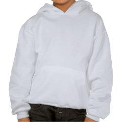 Kids Hooded Sweatshirt with Delaware Birder design