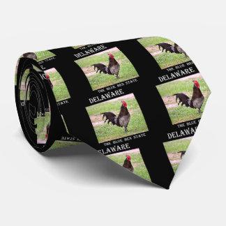 Delaware Blue Hen (Rooster) Neck Tie