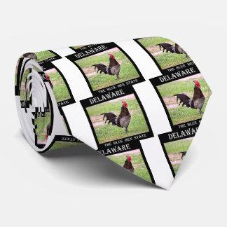 Delaware Blue Hen (Rooster) Tie