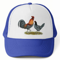 Delaware Blue Hen Trucker Hat