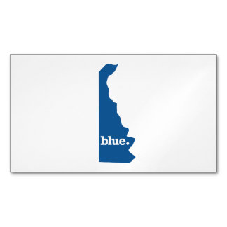 DELAWARE BLUE STATE MAGNETIC BUSINESS CARD