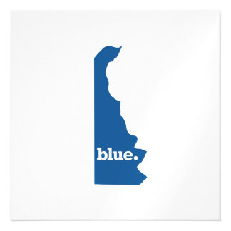 DELAWARE BLUE STATE MAGNETIC CARD