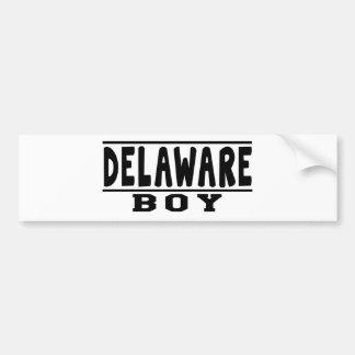 Delaware Boy Designs Bumper Stickers