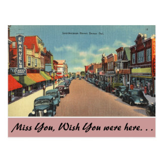Delaware, calle de Loockerman Tarjetas Postales