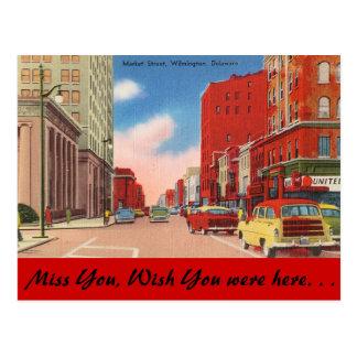 Delaware, calle de mercado postal